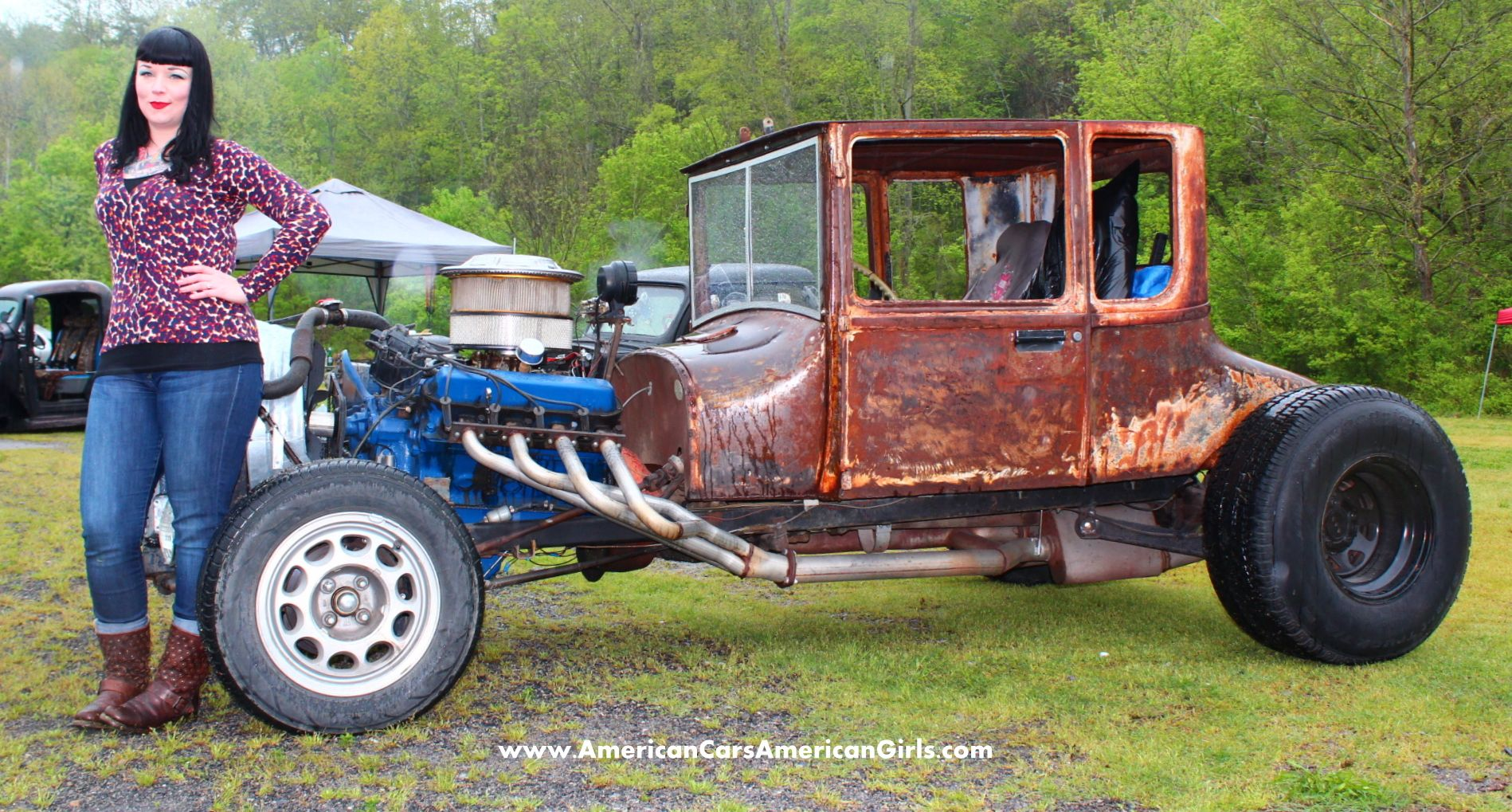 RatRod #Rat #Rod #Rust Spray that engine with some lacquer thinner ...