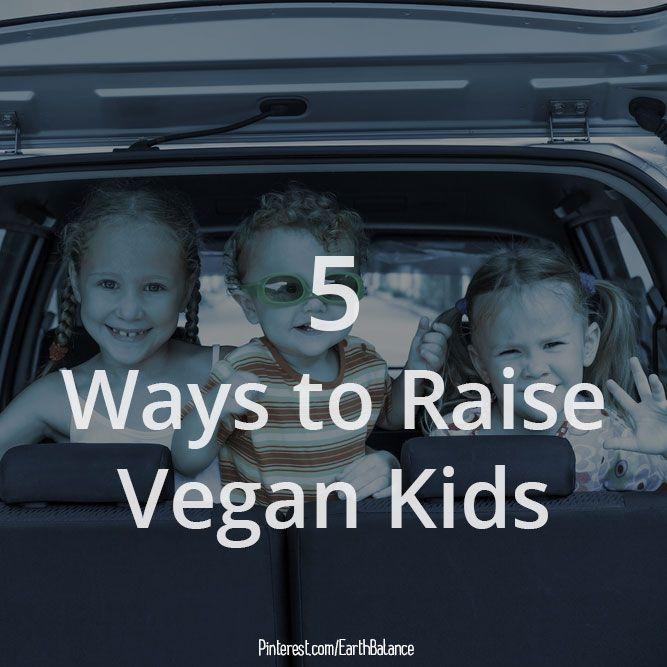 how to raise a vegan child