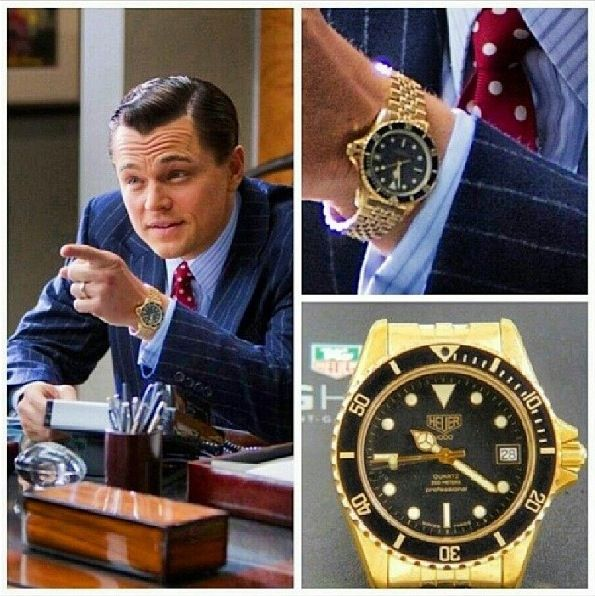 Leonardo Dicaprio Accent Wolf Of Wall Street: Yes, That's A TAG Heuer On Leonardo DiCaprio In The Wolf