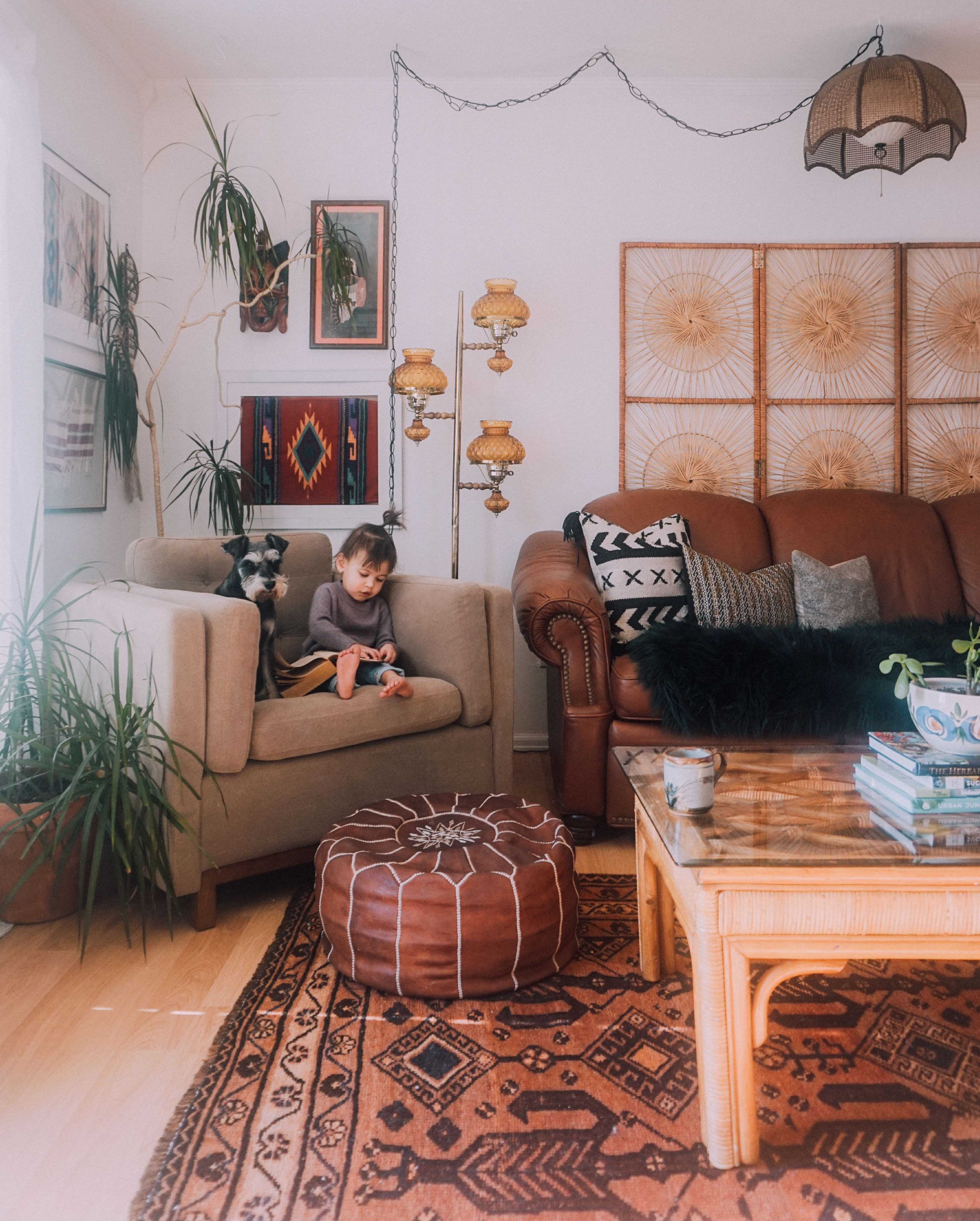 A Childhood Home's New Boho Glow In Colorado Springs (With