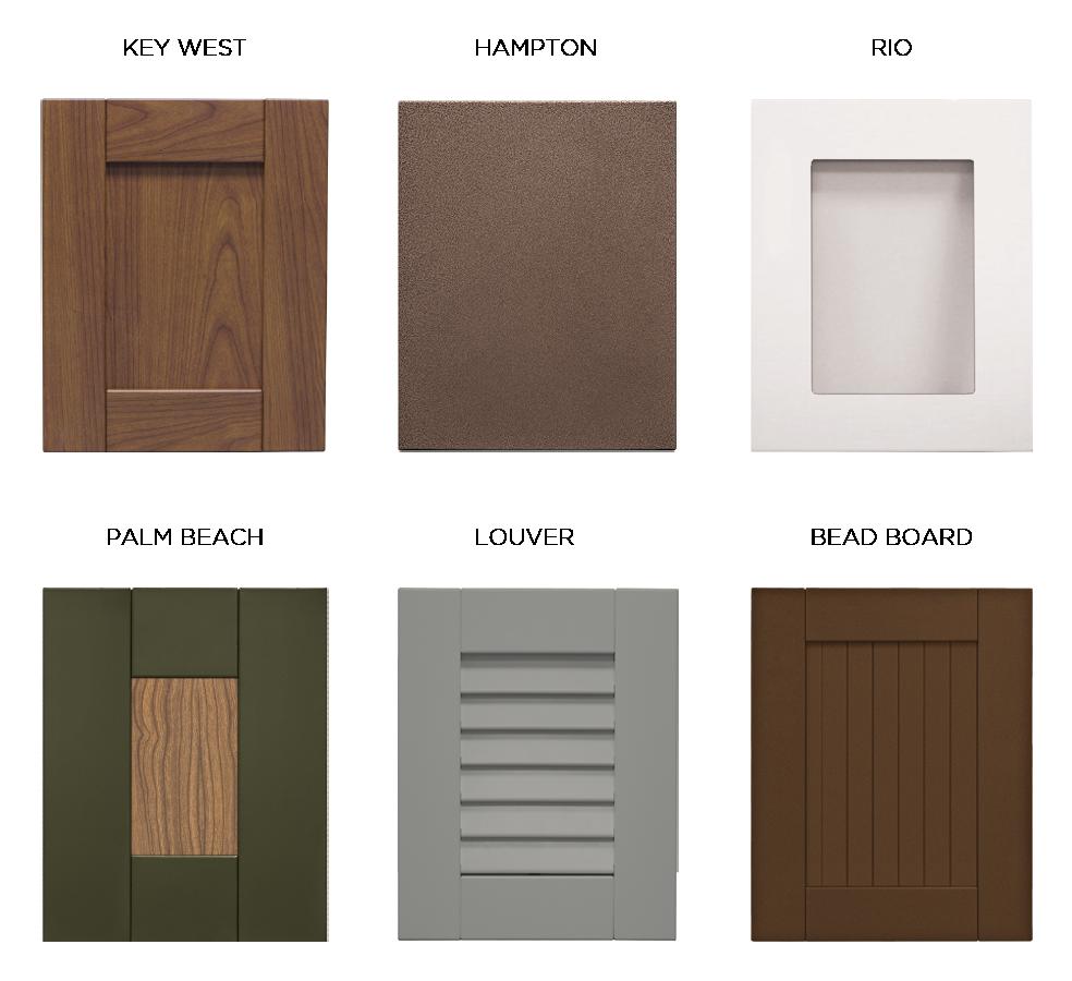 Door Styles Outdoor Kitchen Cabinets Outdoor Kitchen Outdoor Kitchen Design