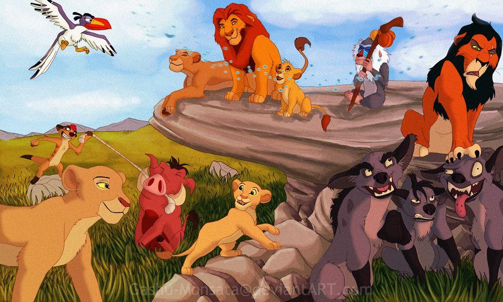 Lion King Cast By Gashu Monsata On Deviantart Rey Leon El Rey Leon Rey