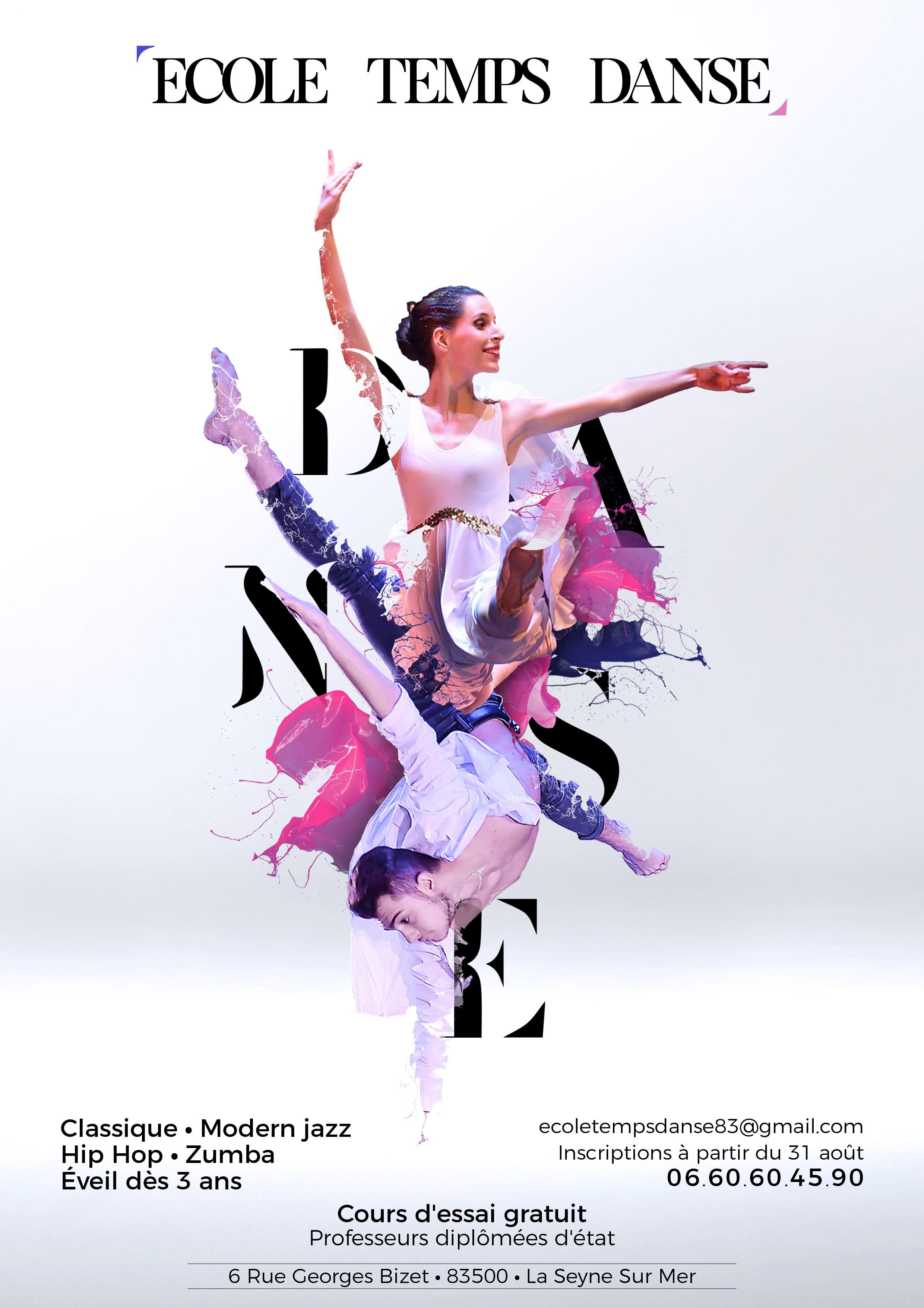 Flyer Ecole De Dans Tempsdanse Culture Club Flyer Dancer