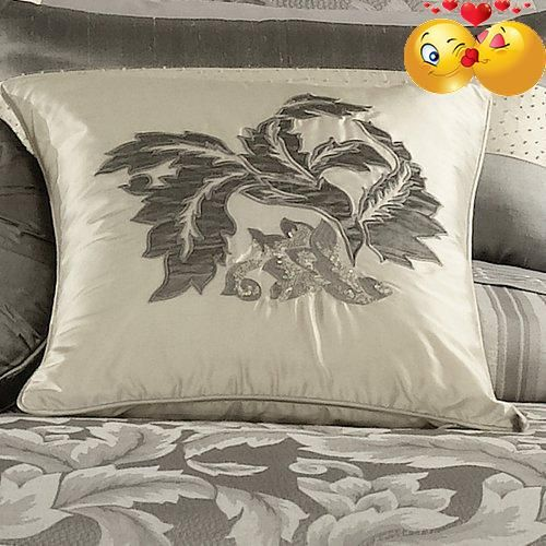 #bedding #Vera #Wang Love Knots Collection is inspired by Vera Wang's jewelry collection. This luxurious bedding creates a look that is both fashionable and luxur...