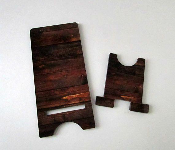 monogrammed cell phone holder rustic desk decor schule. Black Bedroom Furniture Sets. Home Design Ideas