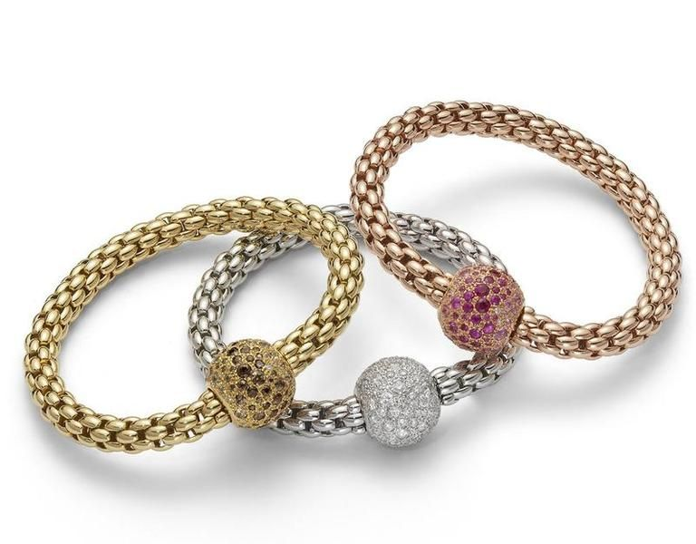 Italian Jewelry Designs at the VicenzaOro Tradeshow Fope From the