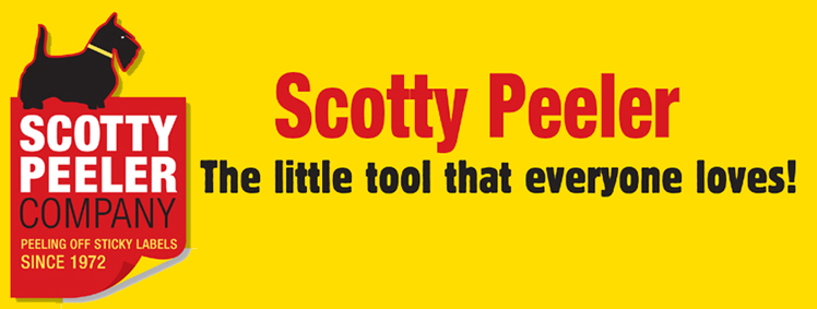 Scotty Peeler in 2020 Sticky labels, Peelers, Remove labels