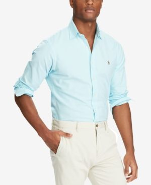 3e7f7ab11 Polo Ralph Lauren Slim-Fit Stretch-Oxford Shirt | Products | Ralph ...