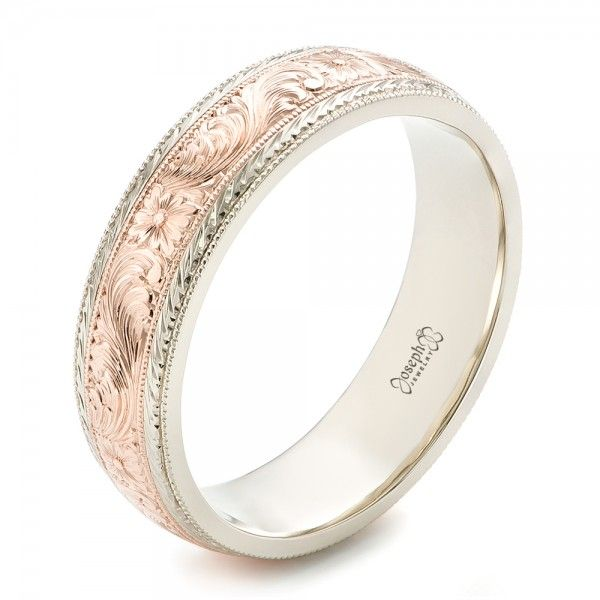 Over Men s Wedding Ring styles  Unique collection of men s wedding rings  custom made in Bellevue Seattle  Design your own wedding ring online or  in store  Custom Men s Hand Engraved Wedding Band  JosephJewelry   Rose Gold  . Design Your Own Mens Wedding Ring. Home Design Ideas