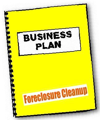 Foreclosure Cleaning Business Plan Guide Shell Template  Pgs