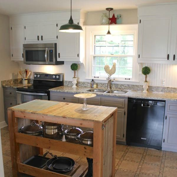 She Wanted To Raise Her Home's Value'tens Of Thousands' Look Gorgeous Farmhouse Kitchen Design Decorating Inspiration