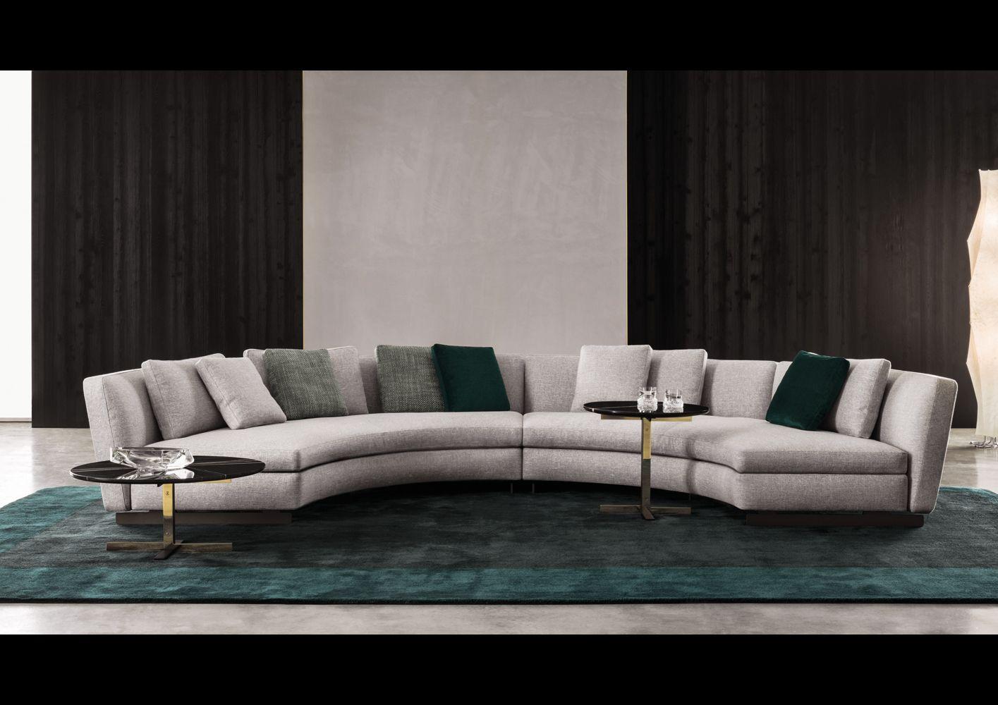 Seymor sofa by Minotti