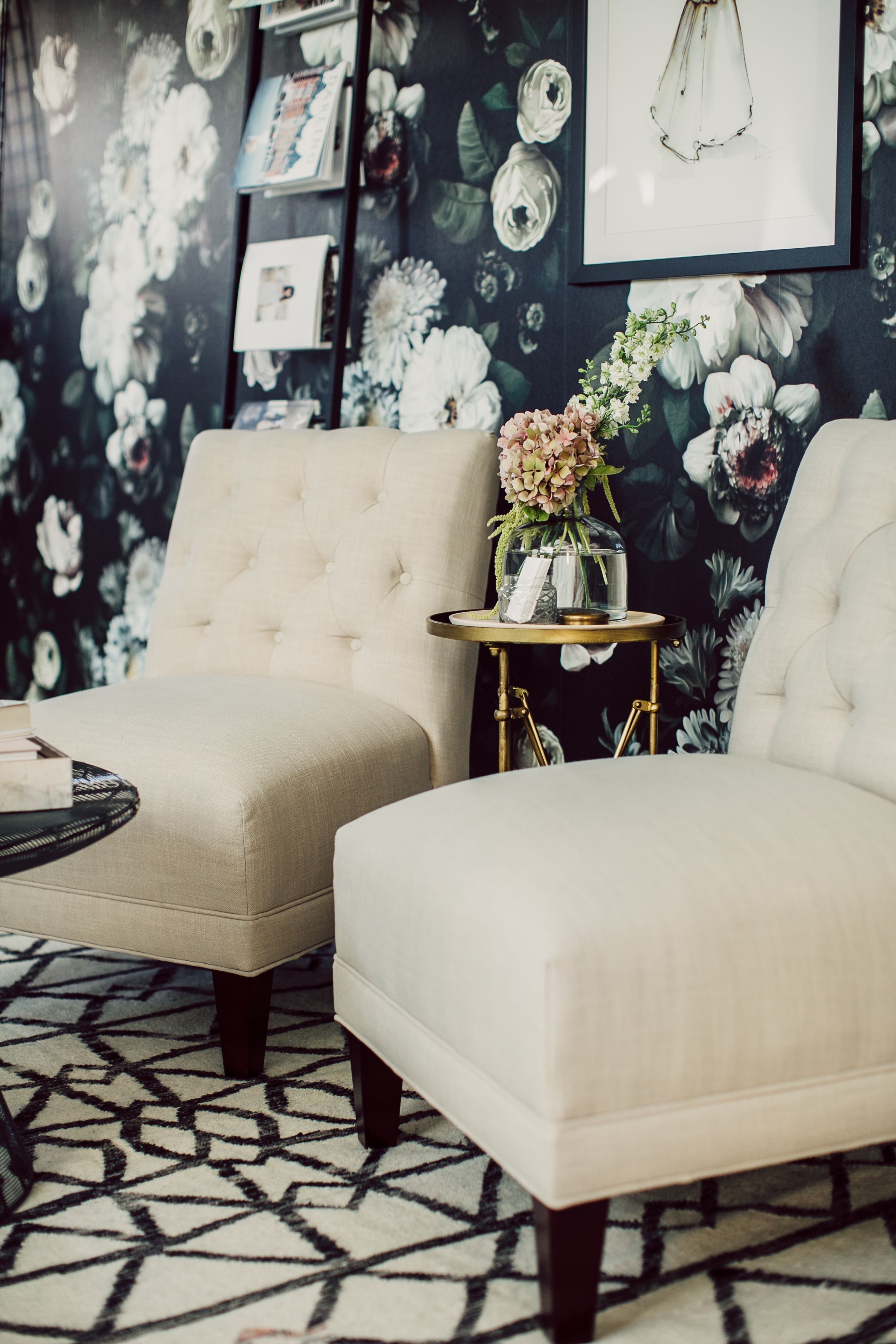 Office Tour Candace Kalasky Of Lovestruck Events - Rue #Cozyhomedecorbedroomhangingchairs