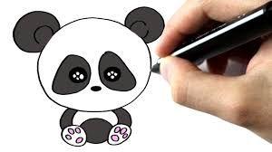 Afbeeldingsresultaat voor panda tekening