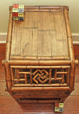 antique chinese  bamboo  furniture | Oriental Antique Furniture, Shanghai District China, Bamboo side table ...