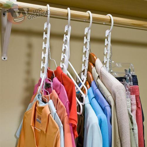 Practical Closet Hanger 8 Pieces Free Shipping Diy Closet