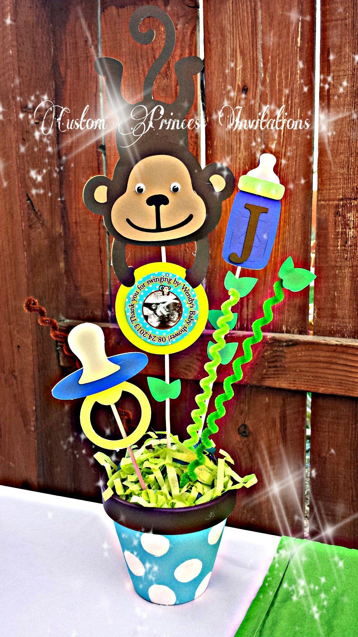 Monkey baby shower theme baby shower pinterest monkey baby baby shower themes and monkey - Baby shower monkey pictures ...