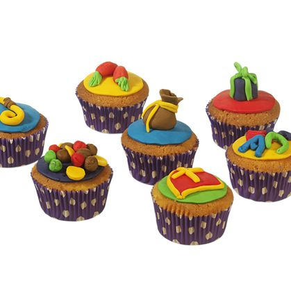 Sinterklaas decoratie cupcakes diy jewels clothes and for Decoratie cupcakes