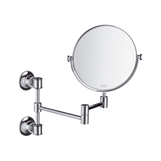 Axor Montreux Shaving Mirror Pull Out, Pull Out Mirror Bathroom