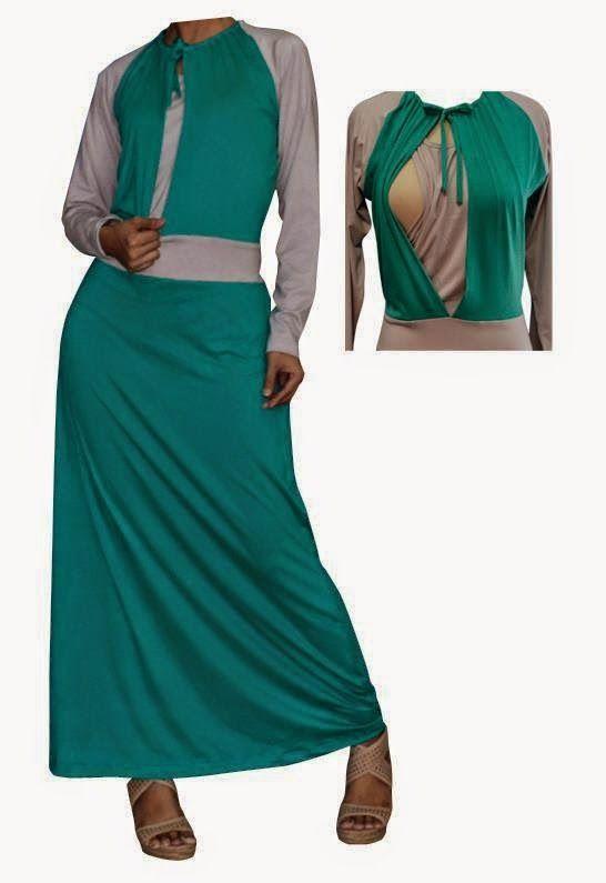 Butik Jeng Ita  Produk Busana dan Fashion Cantik Terbaru: Gamis Untuk Ibu Menyusui  Butik Baju