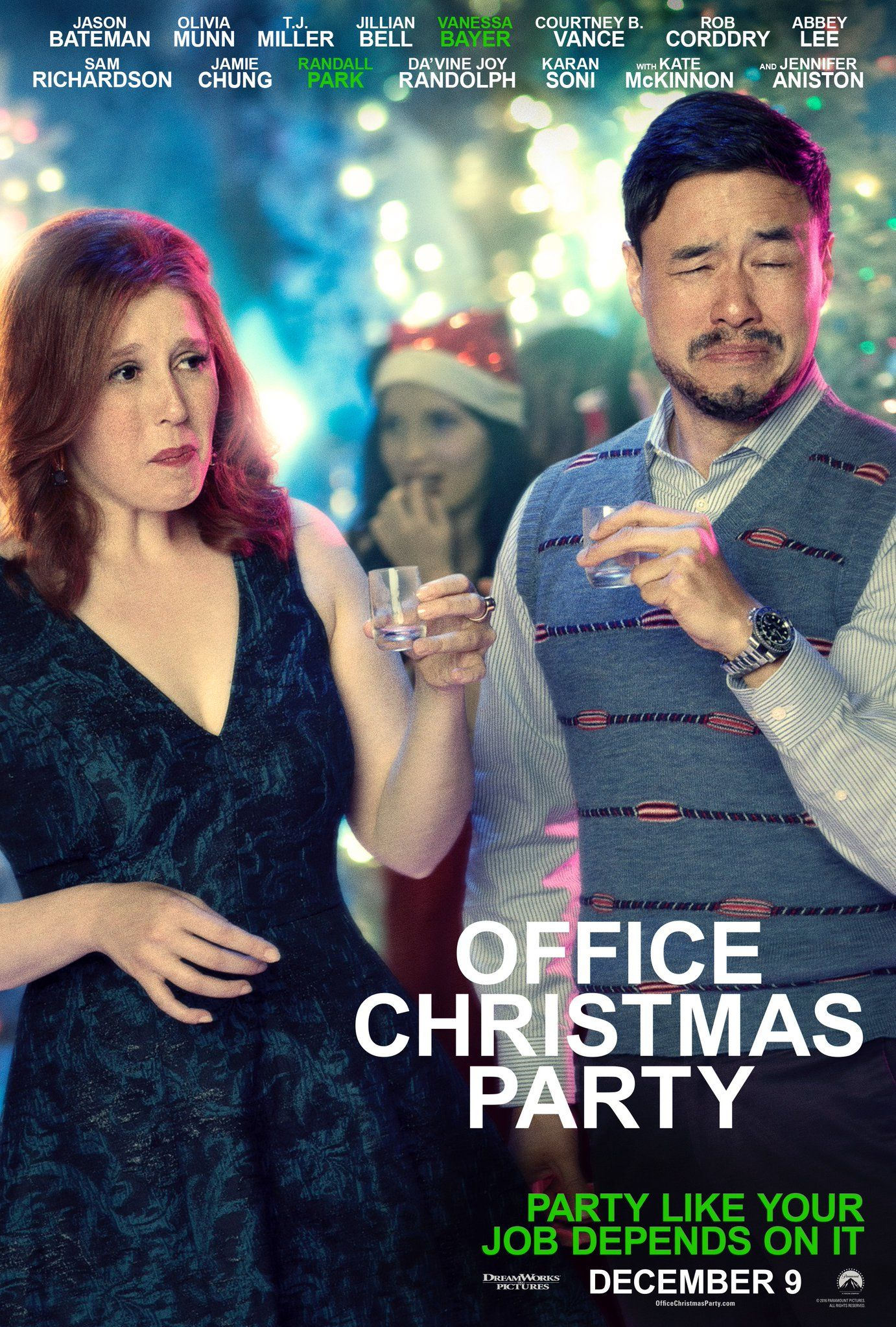 New Office Christmas Party Poster | Latest-movies | Pinterest ...