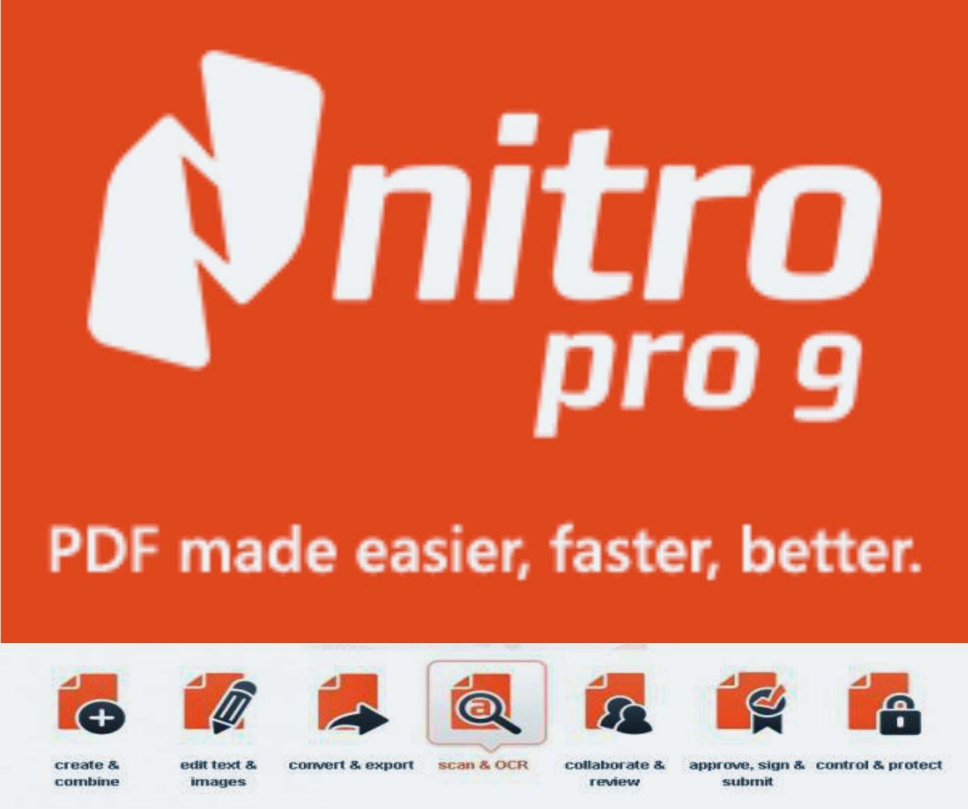 nitro pro 9 download free