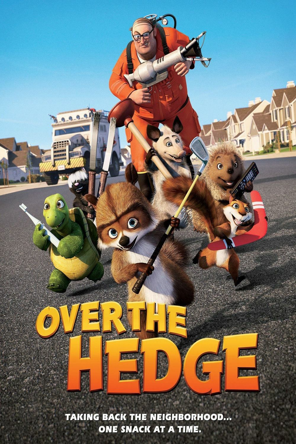 Quality Movies Over The Hedge 2006 Blu Ray Dual Audio 480p 300mb In 2020 Animated Movie Posters Full Movies Online Free Full Movies