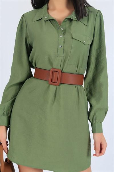 9 95 Tl Deri Kahverengi Bayan Kemer 25977k Modamizbir 2020 Gomlek Elbise Kemer Giyim