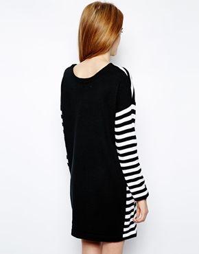 White Chocoolate 2 Way Stripe Dress