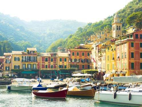 The coastal town of Portofino is one of the most beautiful European ports to sail into. It also has ... - Getty