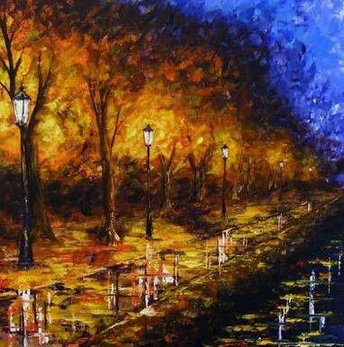 Landschaftsmalerei impressionismus  Pin von Vish Naik auf impressionalism | Pinterest