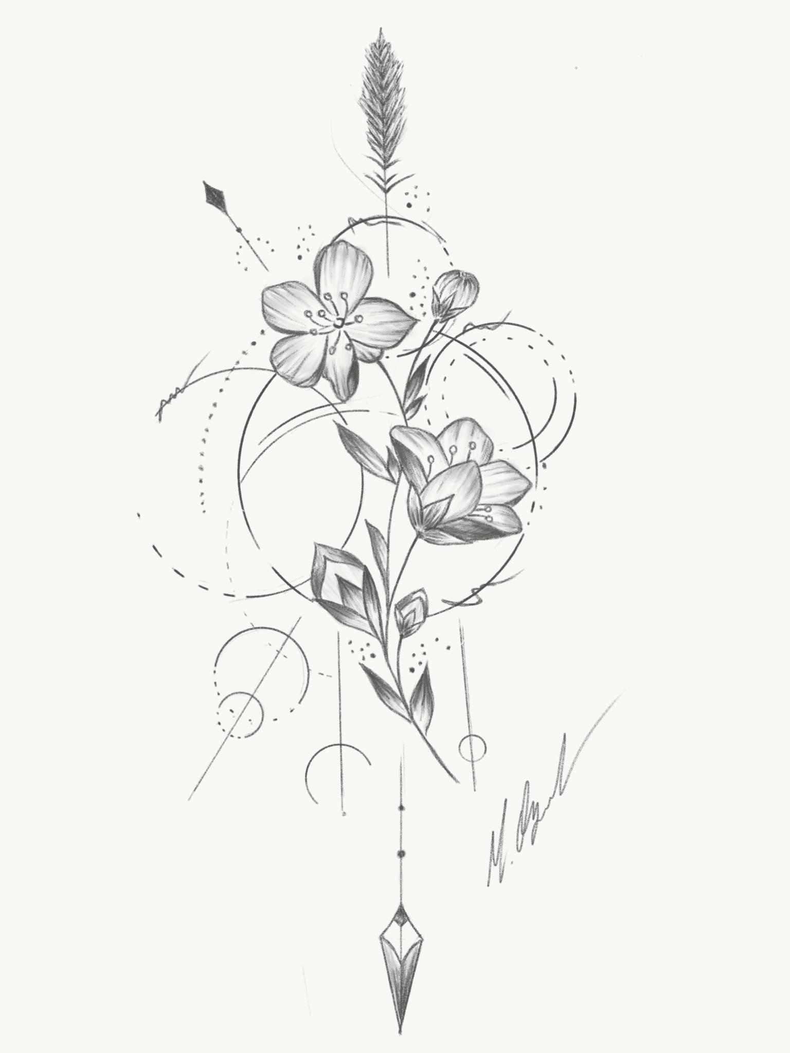 Photo of #flower #flowertattoo #flowerstattoo #tattooart #drawing  #tattoodrawings – samoan tattoo