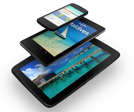 Google reveals Nexus 4, Nexus 10 and more Nexus 7