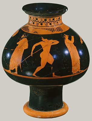 Athenian Vase Painting Black And Red Figure Techniques Ceramica