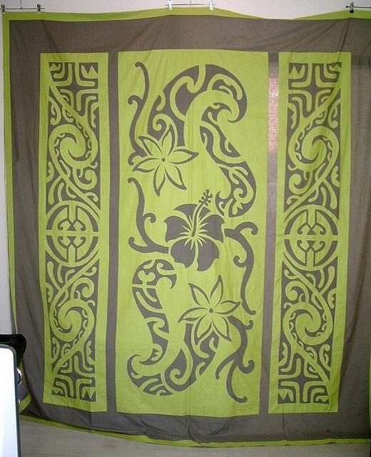 Tahiti en France : Fati Tattoo et Tifaifai   Stuff I like ... : hawaiian quilt tattoo - Adamdwight.com