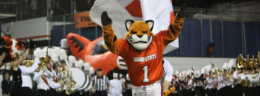 Isu Idaho State Bengals Mascot Benny The Bengal Tiger Idaho