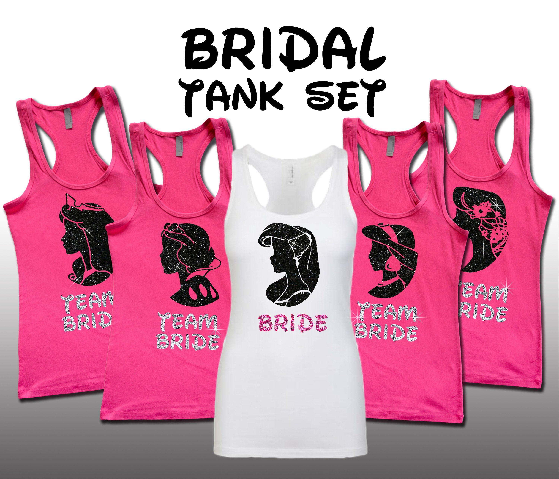6c74cfcc4ef Princess Bridal Set Hot Pink Bridal Wars