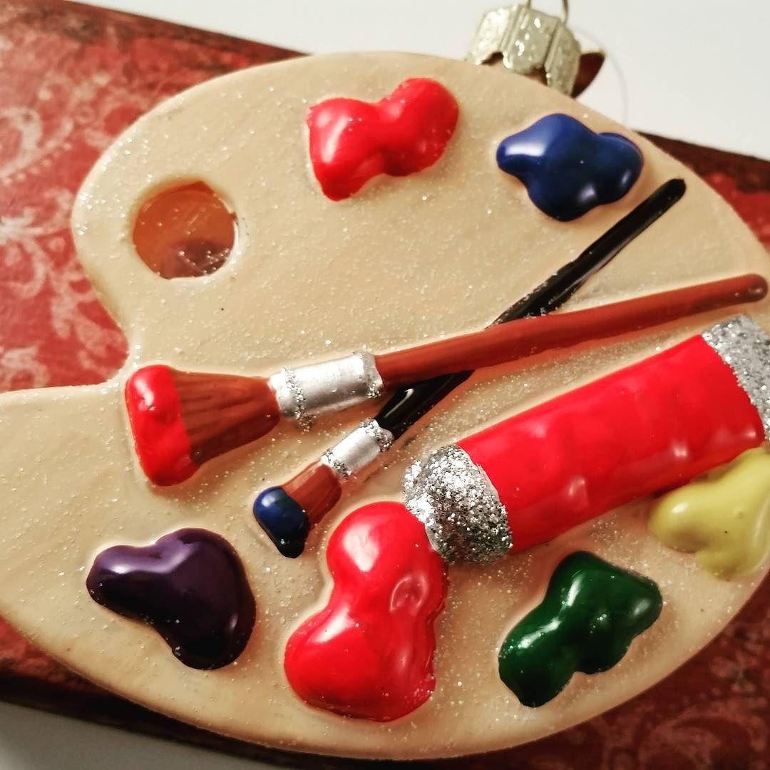 Get you creative juices flowing.  Bring new life into something old.  #trashtotreasure #becreative #repurposed #artist #painter #glassornaments #christmasornaments #shabbychic #shabbycottage #vintagechristmas