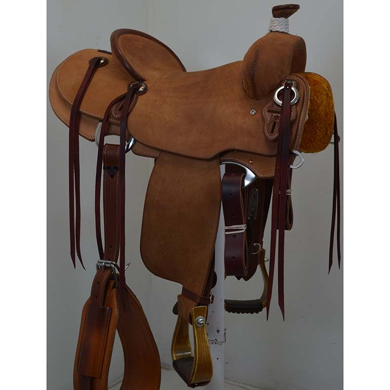 Coolhorse New 15 Cactus Saddlery Ranch Saddle With Lewis Tree Roping Saddles Saddle Wade Saddles