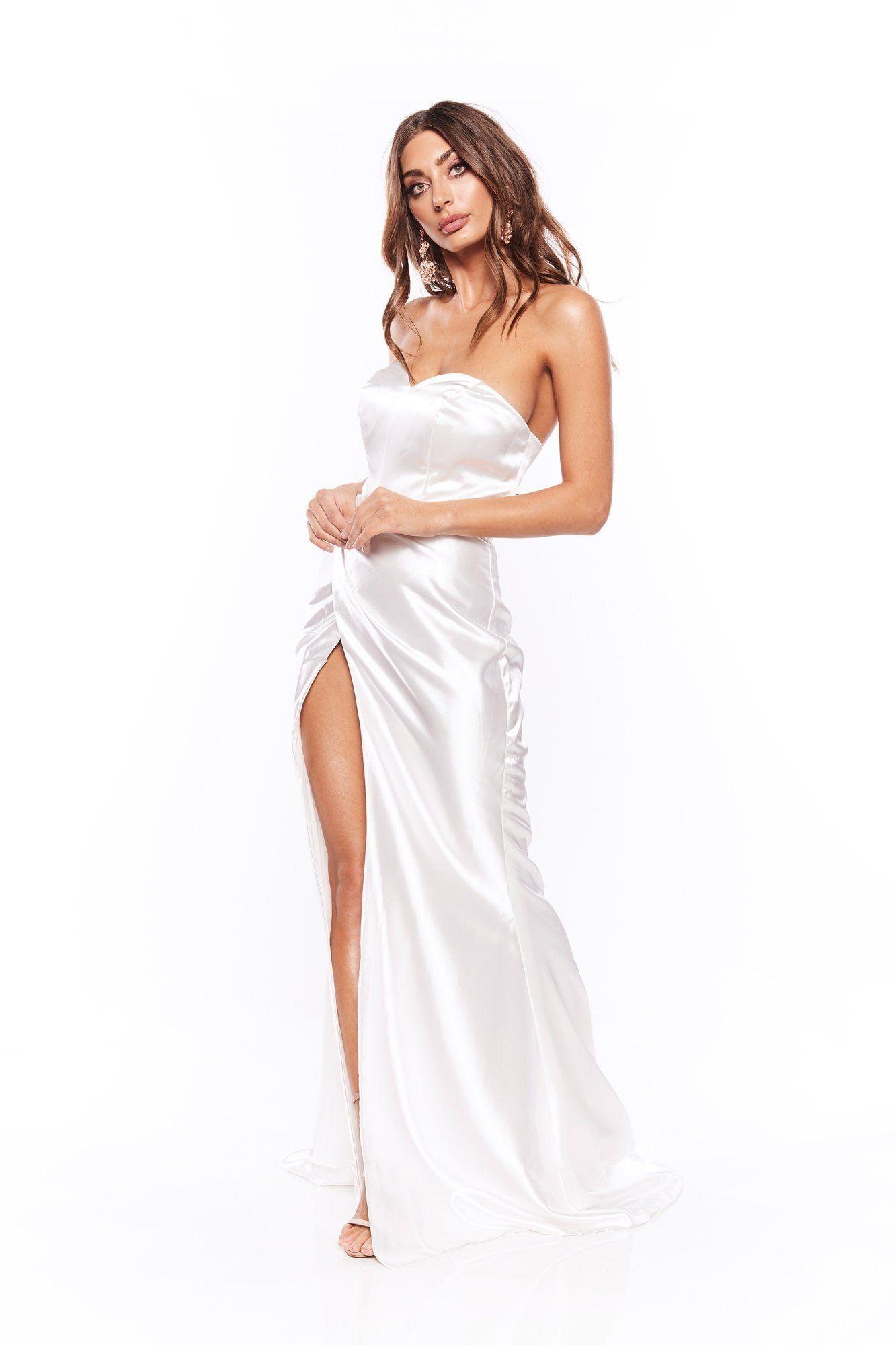 30+ White silk dress ideas in 2021