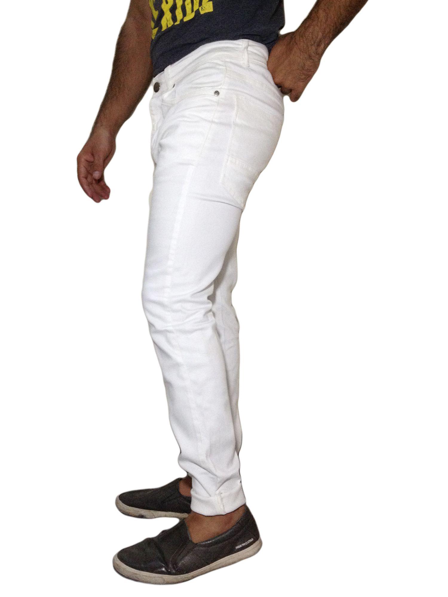 Park Art My WordPress Blog_Mens Slim Fit Distressed White Jeans