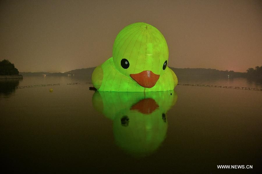 CHINA-BEIJING-RUBBER DUCK-LAST DAY (CN) | Culture: Rubber Duck ...