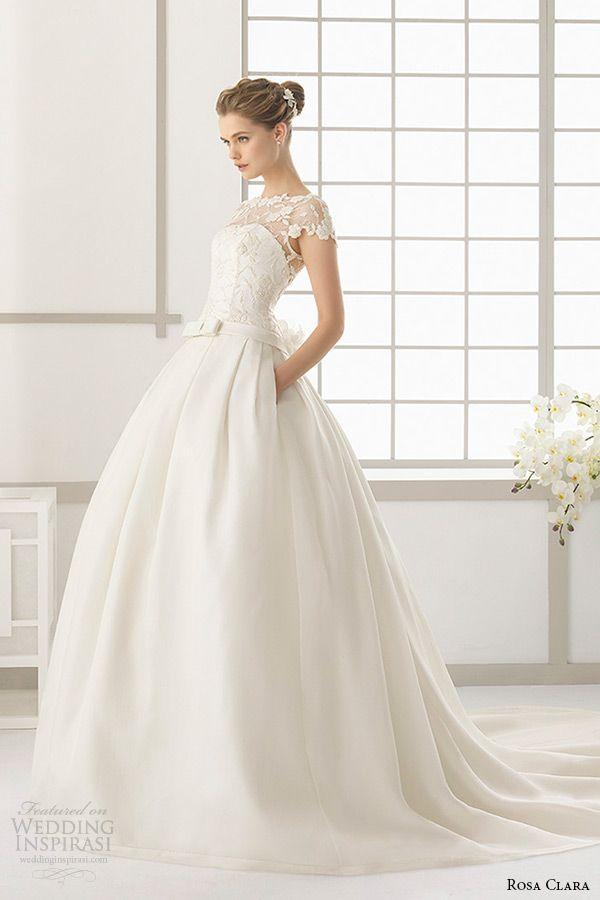 Rosa Clara 2016 Wedding Dresses Preview | Rosa clara, 2016 wedding ...