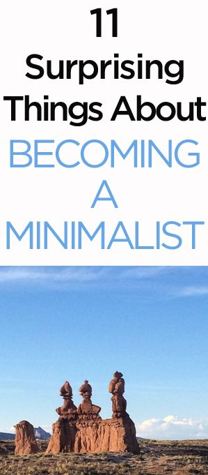 11 Surprising Things about Becoming a Minimalist