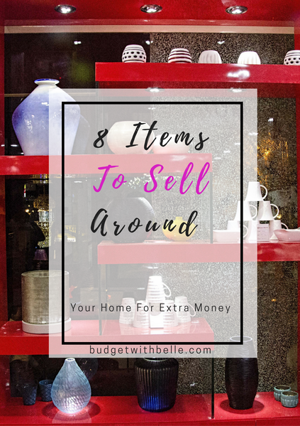 We all could use a bit of easy extra cash from time to time. But did you know that you could potentially have items around your home that could be the.answer to this? It is easy to simply hang on to things around your home that you no longer need or use, or that you bought in a spending craze that you have actually never used.