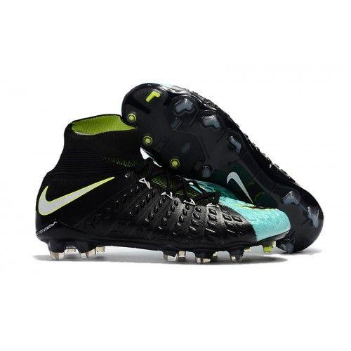 newest collection 220f4 7bdfe ... hot botas de fútbol de hombre nike hypervenom phantom iii df fg negro  azul blanco amarillo