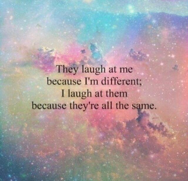 i laugh at you haha