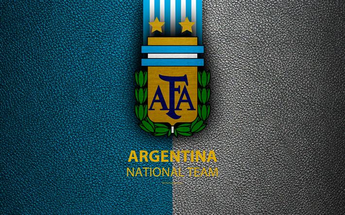 Download Wallpapers Argentina National Football Team 4k Leather Texture Emblem Logo Coat Of Arms Football Argentina Besthqwallpapers Com Argentina Football Football Wallpaper Argentina Football Team