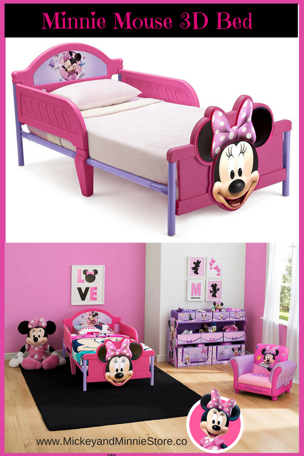 Disney Minnie Mouse Toddler Bed With Images Minnie Mouse