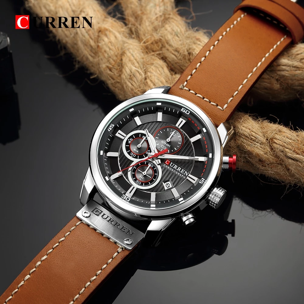 Water 50m Shock Resistant Sports Military Wristwatch Vintage Watches For Men Watches For Men Best Watches For Men